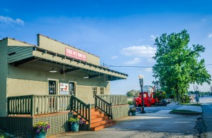 Ice House furniture store and Frost Caboose in Chamblee Georgia